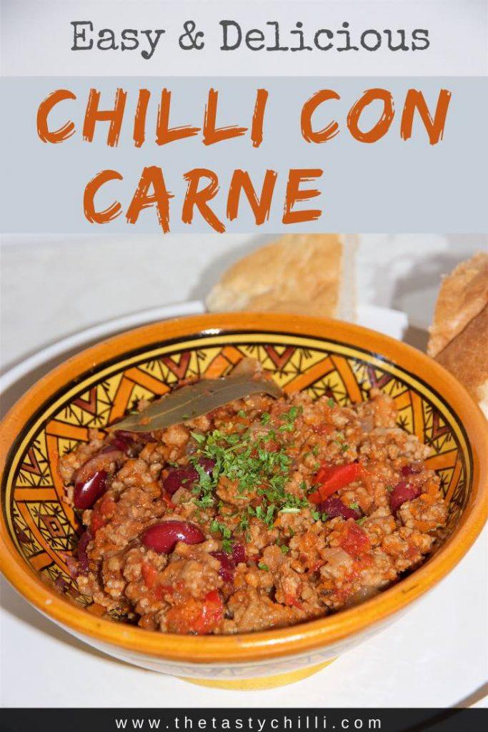 Makkelijk Chilli con carne recept | Makkelijke chili con carne recept | chili con carne recepten met rundvlees #recept #chilliconcarne #chiliconcarne