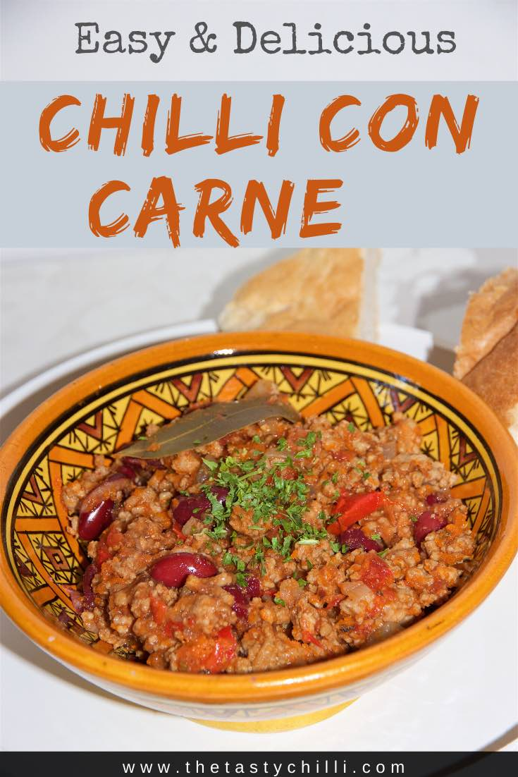 Easy Chilli con carne recipe | Easy chili con carne recipe | chili con carne recipes with ground beef #recipe #chilliconcarne #chiliconcarne