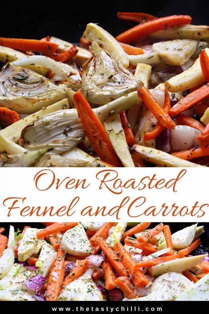 Gegrilde venkel en wortel uit de oven | Geroosterde wortel en venkel uit de oven | Gegrilde wortel en venkel uit de oven