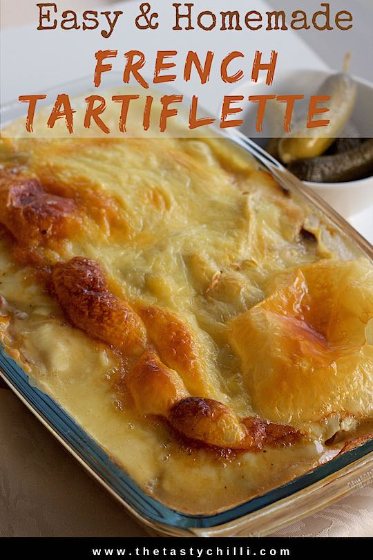 French tartiflette recipe | How to make easy tartiflette with Reblochon cheese | #tartiflette #tartifletterecipe