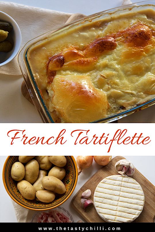 French tartiflette recipe | How to make tartiflette with Reblochon cheese | #tartiflette #tartifletterecipe