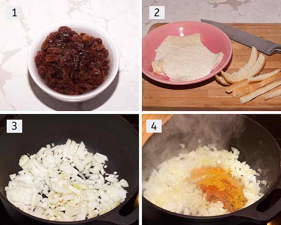 instructies hoe bobotie klaar te maken deel1