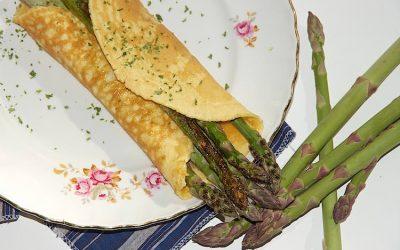 Asparagus omelet recipe