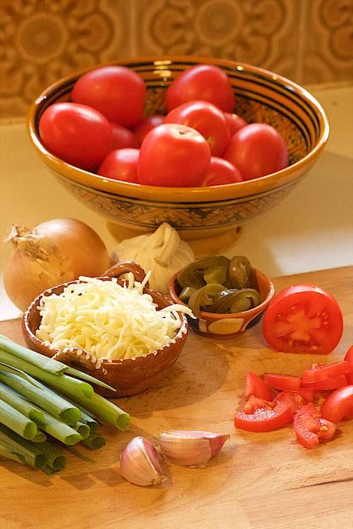 ingredienten nachos uit de oven