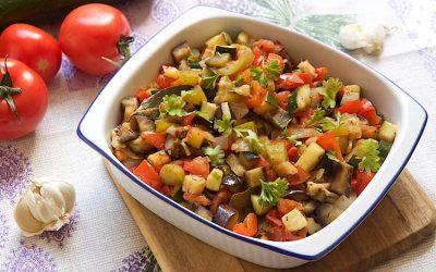 Traditional ratatouille recipe